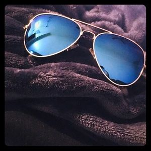 Other - Polarized Blue Mirrored Aviators